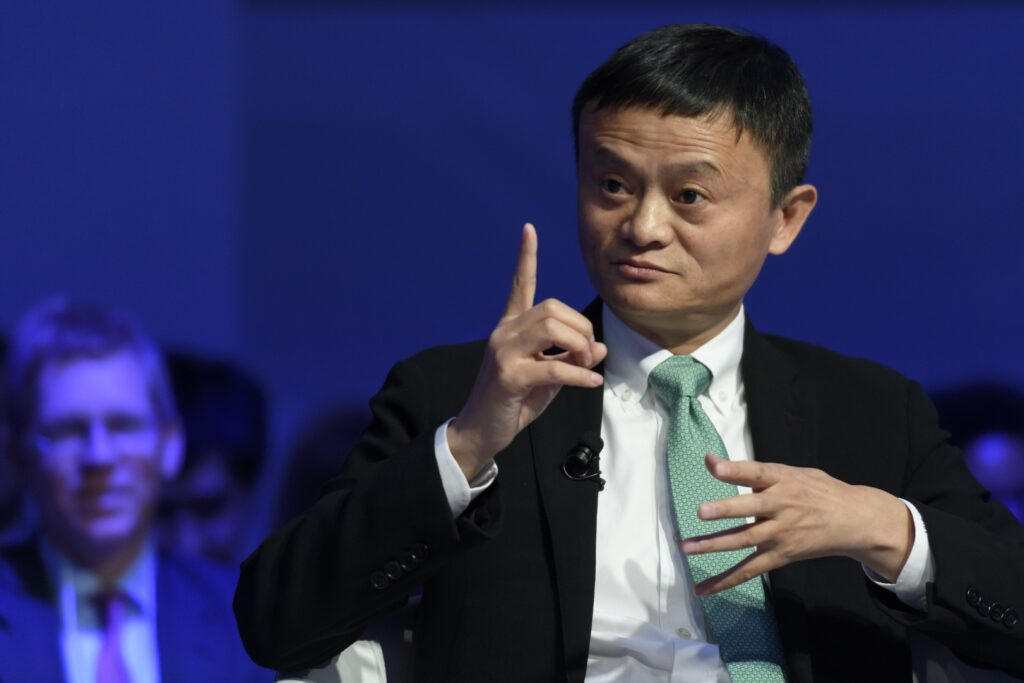 The greatness of Jack Ma becoming the richest man in China.