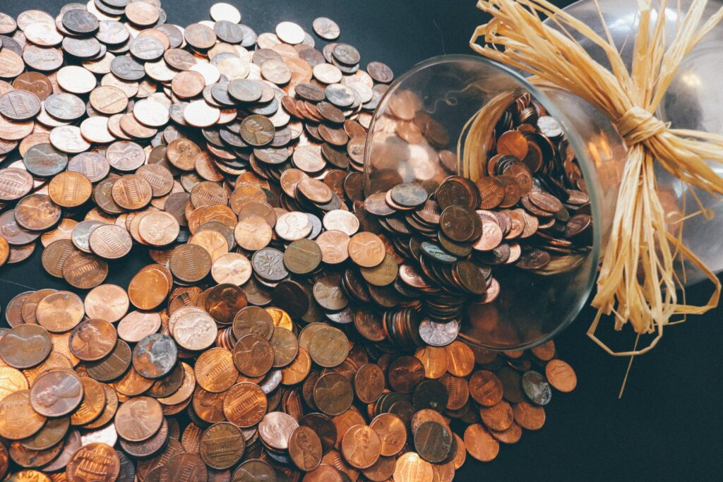 Pennies for investments