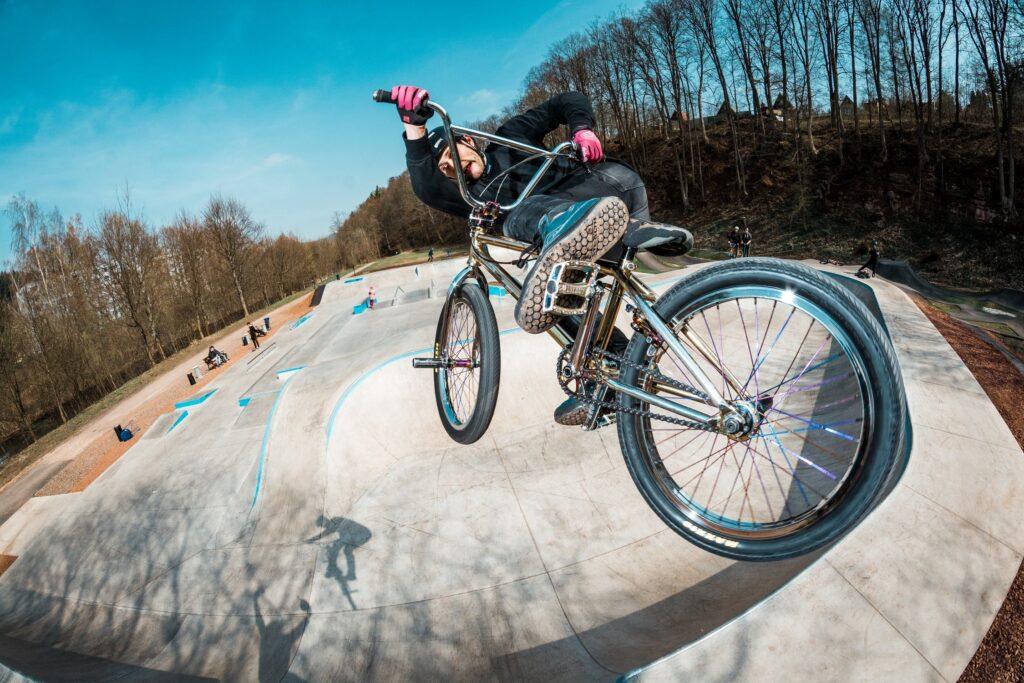 Bikers Break All The Rules of Biking.