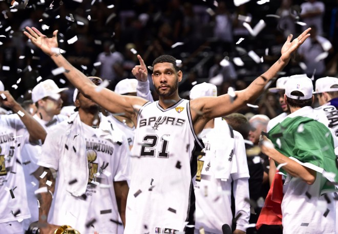 The greatness of the San Antonio Spurs celebration after winning their 5th NBA Championship